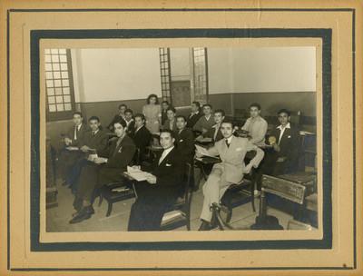 Grupo en un salón de clases