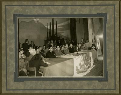Asamblea del sindicato de trabajadores de la Industria Cinematográfica