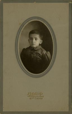 Niño, retrato