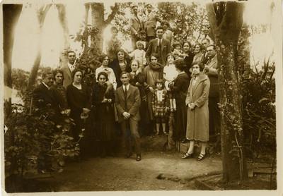 Familia Martínez Baca, retrato