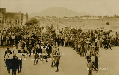 Vanguardia entrando a C. Juárez