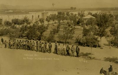 """""""Plaza de Armas. Casas Grandes"""", tarjeta postal"""