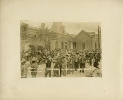 Fuerzas de Orozco y Villa el día del disgusto con Sr. Madero