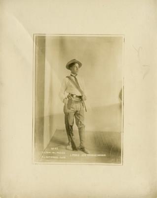 """J. Ponce. Jefe revolucionario"", retrato"