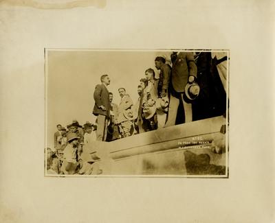 Francisco I. Madero, Francisco Villa y revolucionarios al triunfo de la revolución