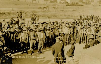 Pascual Orozco y sus tropas
