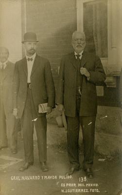Gral. Navarro y Mayor Pulido