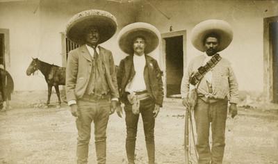 Jefes zapatistas, retrato de grupo