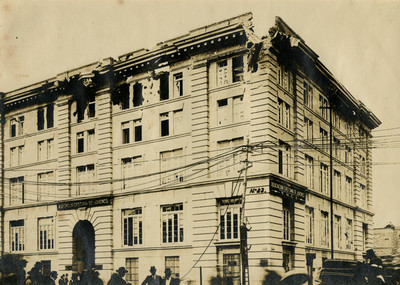 Edificio de la Asociación Cristiana de Jóvenes Y.M.C.A., fachada