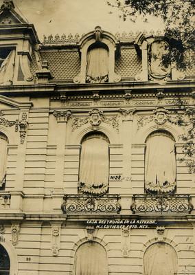 Casa destruída en la Reforma