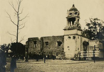 Templo El Campo Florido, destruido por felicistas