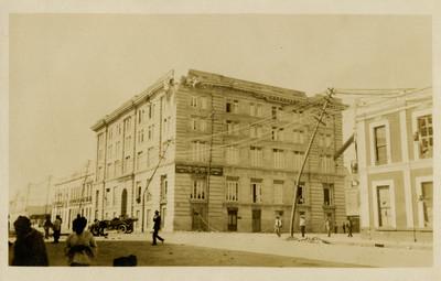 Instalaciones de la Asociación Cristiana de Jóvenes Y.M.C.A., exterior