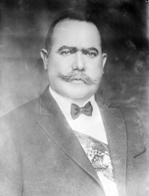 Alvaro Obregón, presidente, retrato