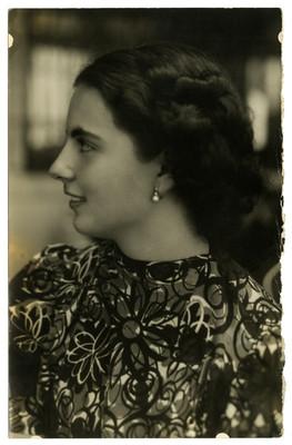 Hija del general Almazán, candidato a la presidencia
