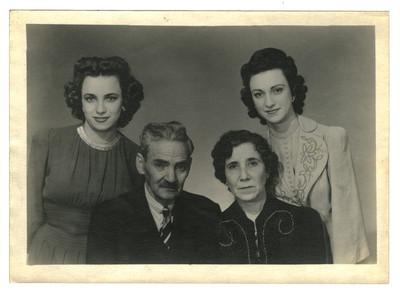 Grupo familiar, retrato