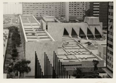Unidad habitacional Tlatelolco, vista