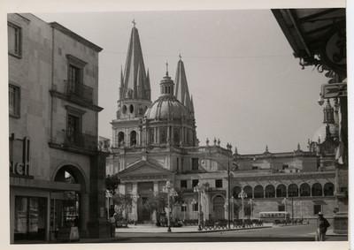 Catedral de Guadalajara, vista lateral