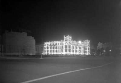 Edificio del Ayuntamiento Municipal, exterior