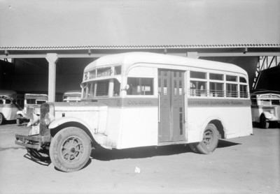 Autobús de la ruta colonia Moctezuma-Chapultepec-Tlalpan
