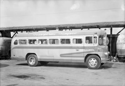 Autobús ruta México-Tampico-Monterrey