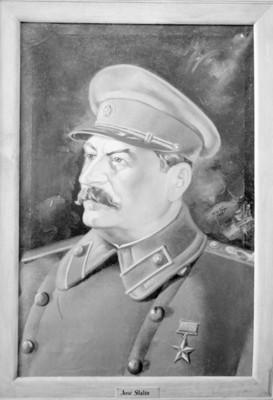 José Stalin, reprografía de una pintura