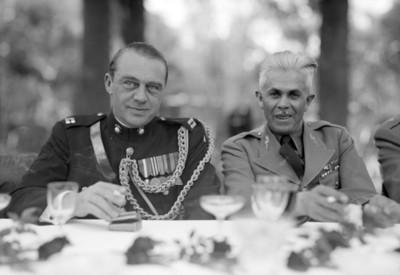 Representantes militares en la reunión U.S.A. - Sudamérica