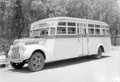 Autotransporte de la ruta San Rafael-Aviación-Tlalpan