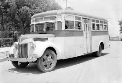 Autotransporte de la ruta San Rafael-Aviación-Euzkadi
