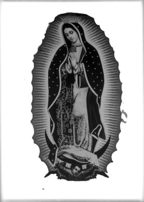 Virgen de Guadalupe, pintura