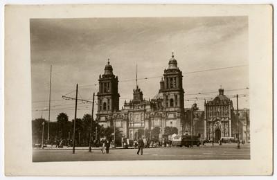 Catedral Metropolitana de la ciudad de México, vista parcial