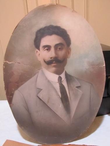 Retrato fotográfico del constituyente Nicolás Cano