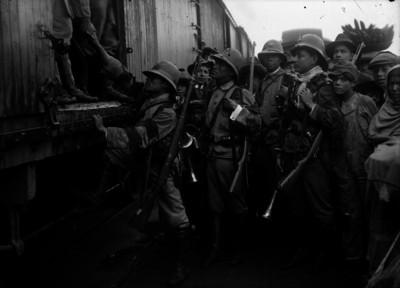 Entrada del ejército libertador a San Luis Potosí
