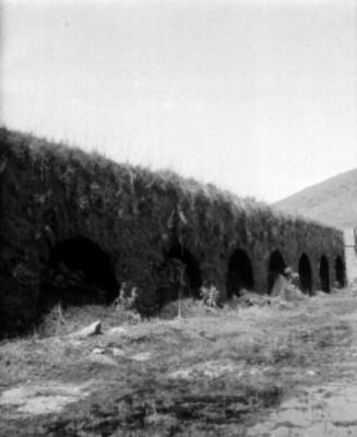 """""""Acueducto de la Villita"""" [sic], vista parcial"""