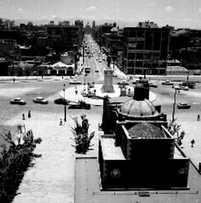 Monumento ubicado entre las calle 20 de noviembre y Chapultepec en la ciudad de México