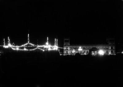 """""""Iluminación del zócalo"""", vista nocturna"""