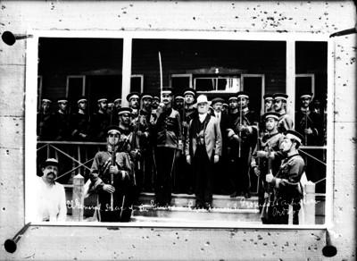 El General Porfirio Díaz y su Guardia Presidencial