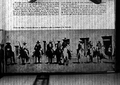 Cástulo Herrera y seguidores de Francisco Villa se disponen a combatir a los federales, reprografía