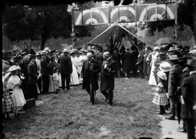 Ramón Corral en la celebración de la Independencia de los Estados Unidos de Norteamérica