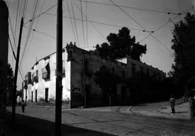 """Casa de Alvarado, Coyoacan"", exterior, vista parcial"