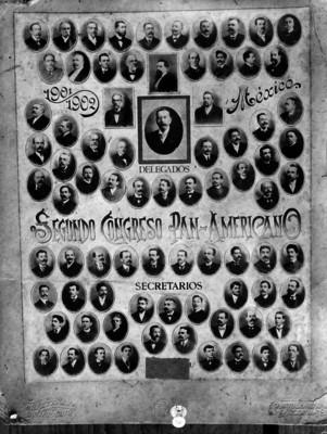 Delegados extranjeros al Segundo Congreso Panamericano