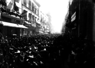 Desfile militar de las Fiestas del Centenario