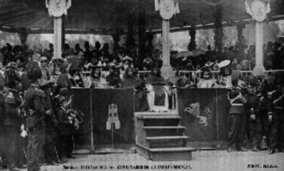 """""""La Jura del Pendón"""", desfile del Centenario"""