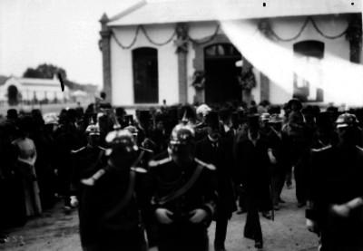 Porfirio Díaz en la inauguración de la Exposición Ganadera de San Jacinto