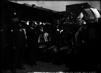 Presos de la Cárcel de Belem, festejan la llegada de Madero