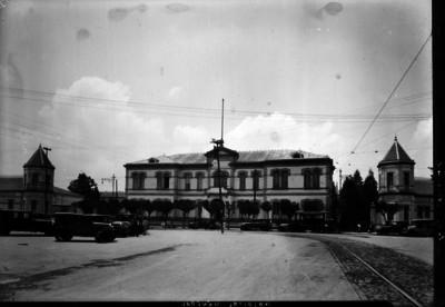 """Hospital General"", fachada principal"