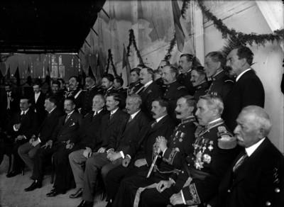 Aureliano Blanquet, Pascual Orozco, militares y funcionarios, retrato de grupo