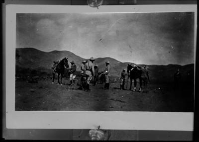 Venustiano Carranza durante su travesía desde Coahuila a Sonora