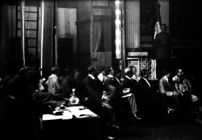 General Eduardo Hay toma la palabra durante la Convención de Aguascalientes