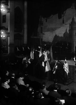 Sesión del Congreso Constituyente, vista parcial