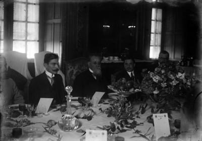 Venustiano Carranza preside banquete en honor a los delegados de México en Argentina